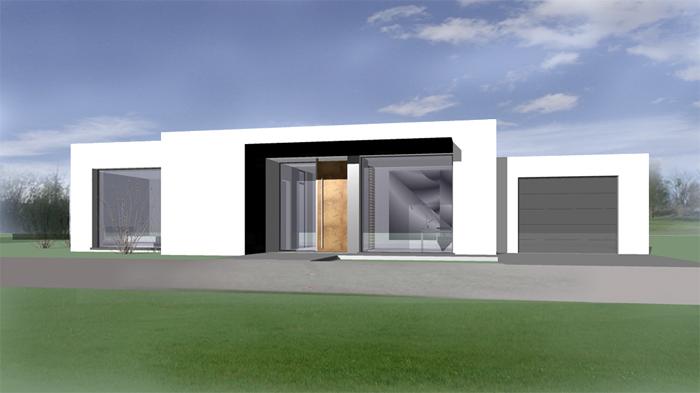 Klassische moderne - Bungalow moderne architektur ...