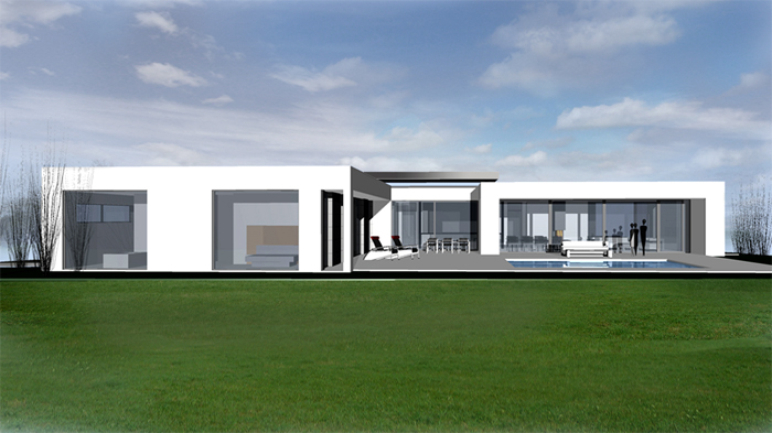 Moderne architektur - Architekten bungalow ...